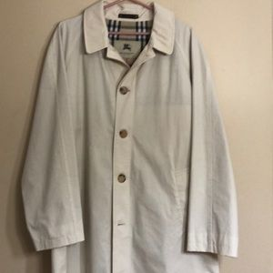 Vintage Burberry London trench check coat